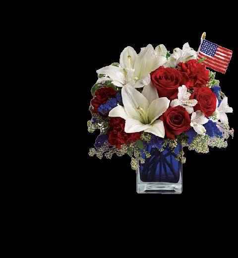 4th July Floral Bouquet