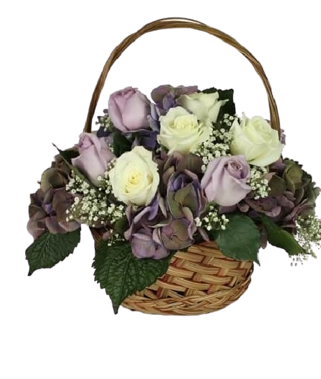 Funeral Flowers Floor Basket