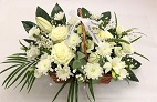 Flower Basket for Funeral