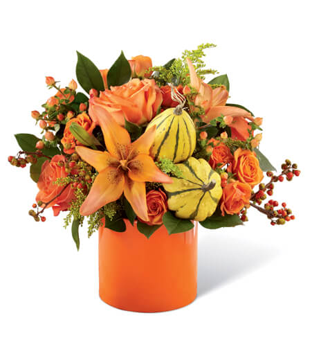 Seasonal Table Centerpiece