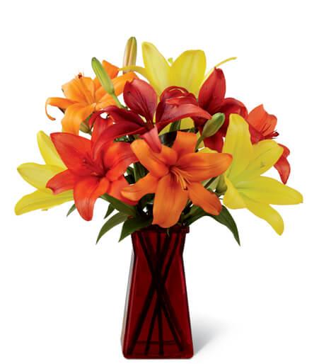 Congratulations Flower Basket