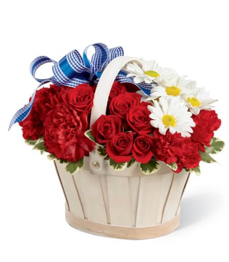 Patriotic Flowers Arrangements