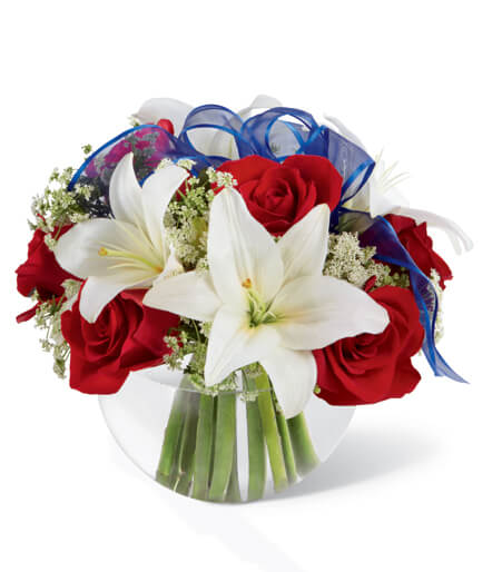 4Th July Flower Bouquets