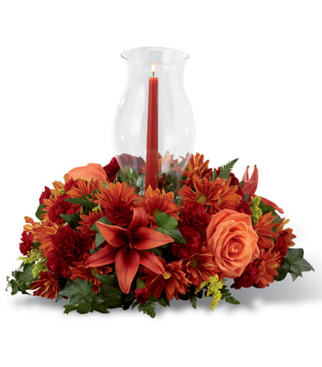 floral arrangements for Thanksgiving