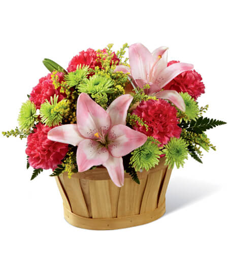 Flower Basket For Delivery