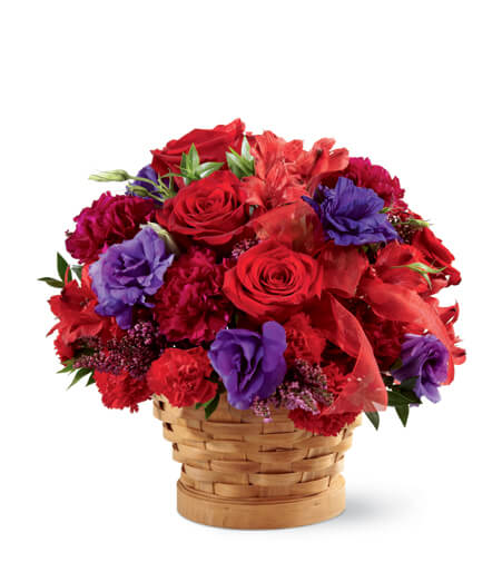 Flower Basket Bouquet