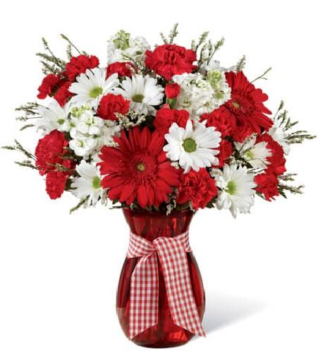 Patriotic Flower Arrangements