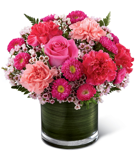 Flower Arrangements In A Vase