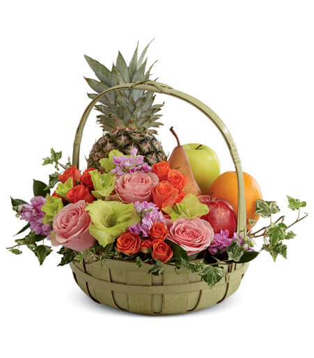 Flower Fruit Basket Delivery