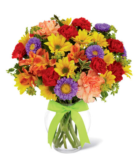 Flower Bouquet In Vase