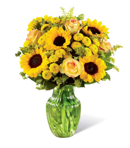 Flowers Arrangement With Vase