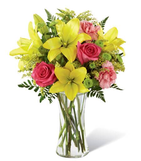 Congratulations Baby Girl Flowers