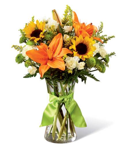 Patriotic Floral Bouquet