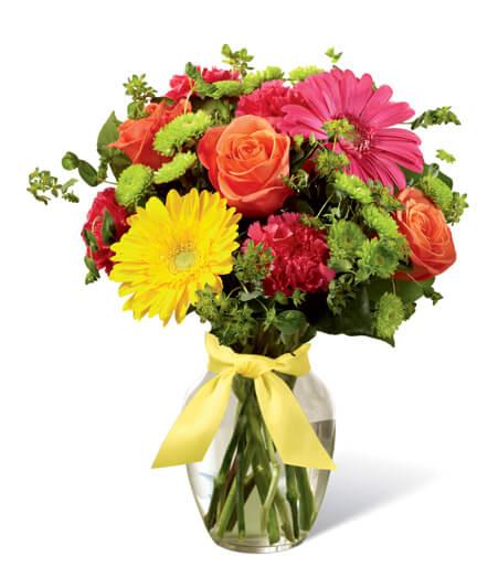 4Th July Flower Centerpiece
