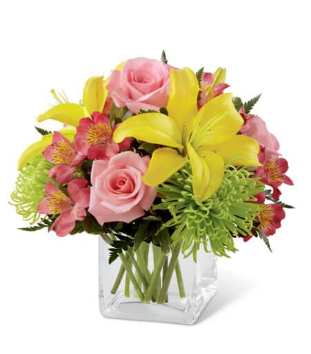 Flowers Baby Boy Congratulations