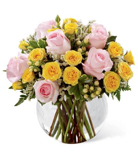 Pink Seasonal Flowers