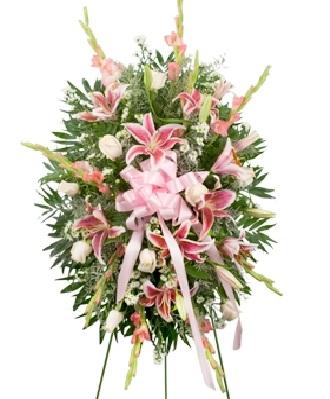 Funeral Spray With Hydrangeas