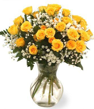Flower Candle Centerpiece