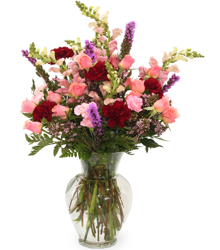 Flower Arrangements In Tall Vases