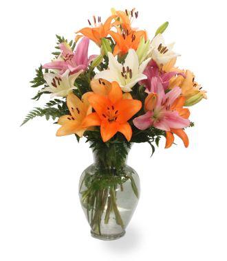 White Floral Arrangements Centerpieces