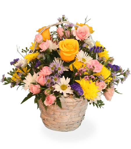 Flower Basket Centerpiece