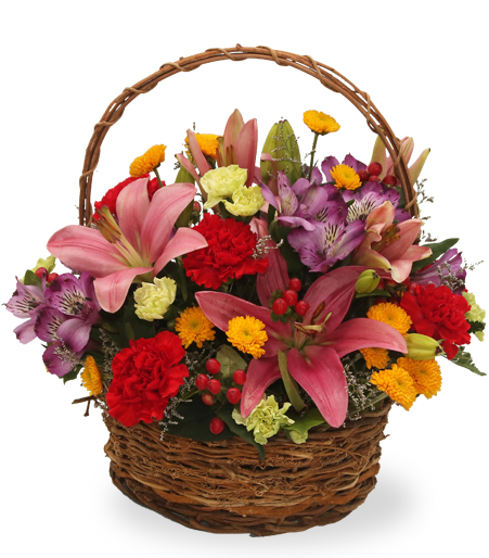 Flower Gift Baskets Delivery