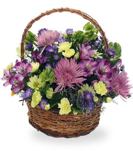 Easter Basket Flower Delivery