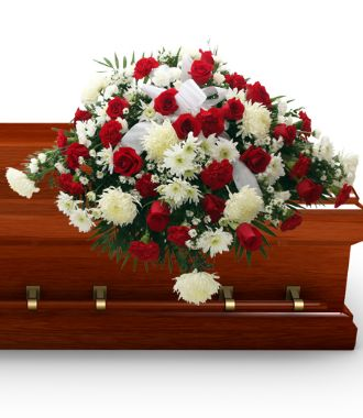 Funeral Flowers For Casket