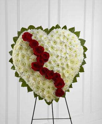 Funeral Heart Spray