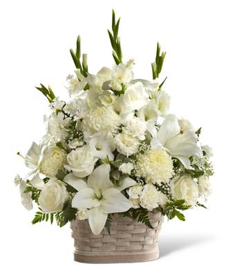 Basket For Funeral