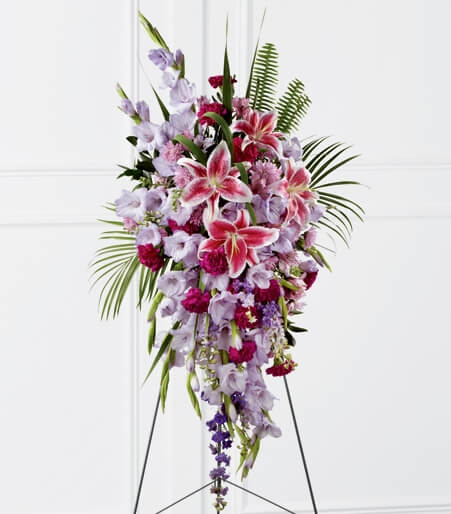 Funeral Spray Roses