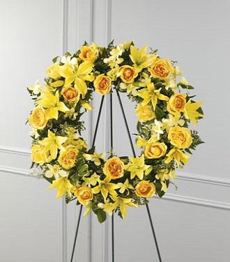 Cheap Flower Wreaths