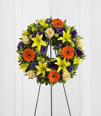 A Funeral Wreath