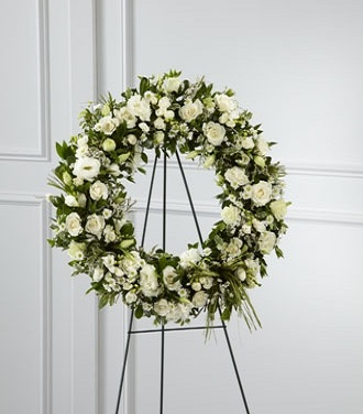 Flower Wreath With Stand