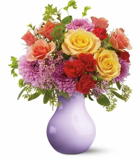Spring Floral Centerpieces