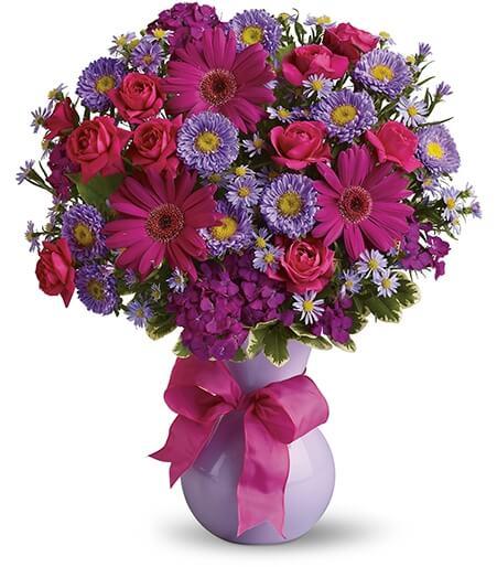 Patriotic Flower Arrangement