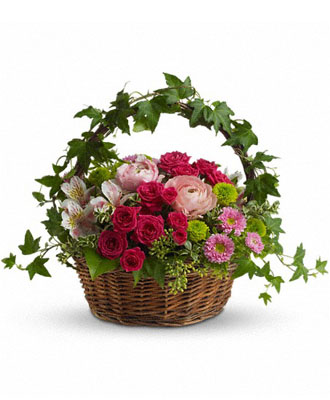 Online Flower Basket Delivery