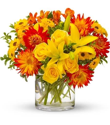 Summer Flower Centerpieces