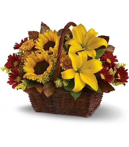 Send Flowers And Fruit Basket