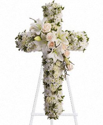Funeral Spray Cross