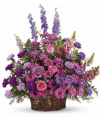 Plant Arrangement For Funeral