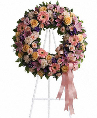 Floral Wreaths For Funerals