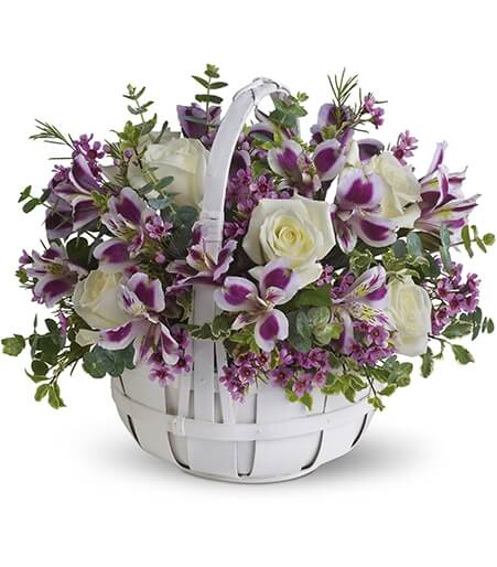 Flower Basket Arrangements