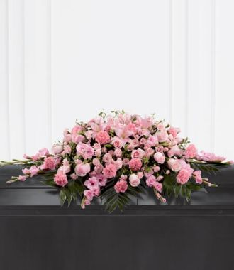 Casket Flower Blanket