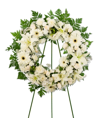 Flower Wreath For Funeral