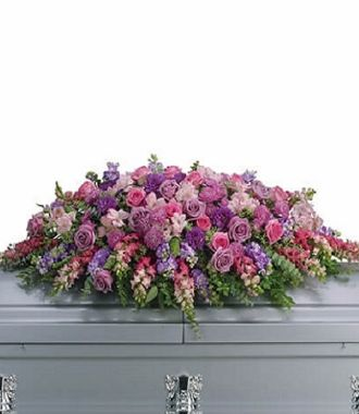 Funeral Spray for Casket