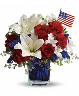 Patriotic Table Centerpieces
