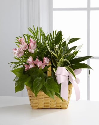 Funeral Basket Flower Arrangements