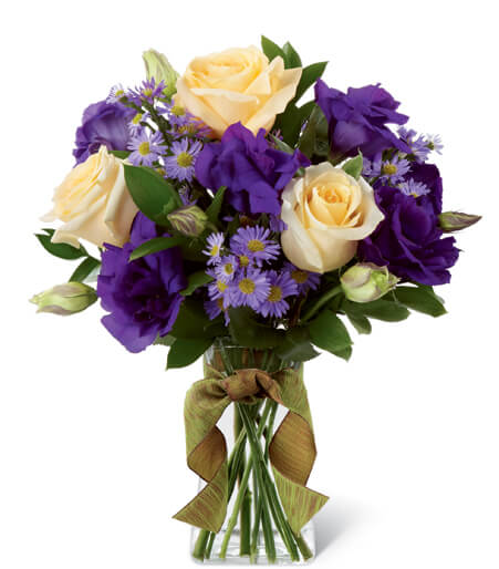 Purple Rose Bouquet