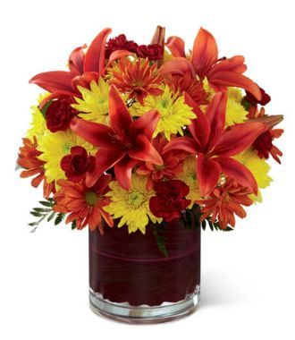 Thanksgiving Flower Centerpieces